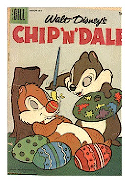 Chip and Dale in comic book
